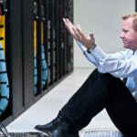 disaster in datacenter photo